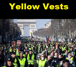 yellow vests france nonviolent protest 1 percent 99 percent midwest trump populism